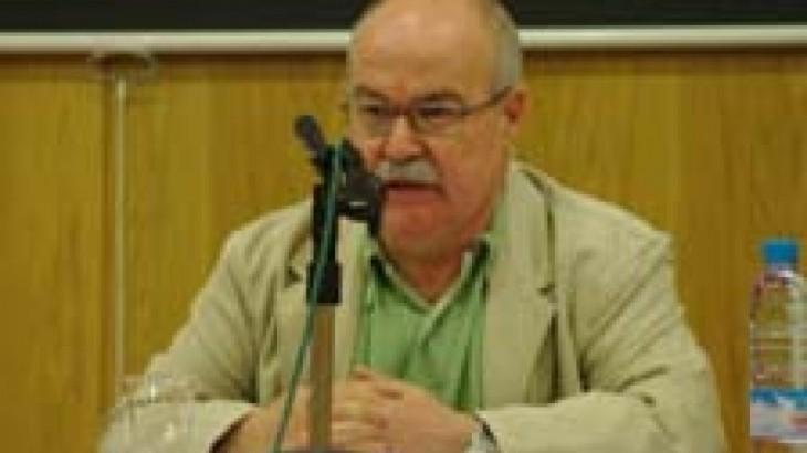Paco Audije durante su ponencia en el II Congreso de la FeSP