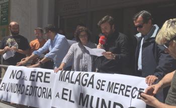 Manifestacion Málaga El Mundo