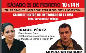 CARTEL TALLER MÁLAGA UMA SPA febrero 2017
