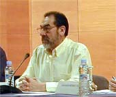 Dardo Gómez, secretario general de la FeSP, participa en el Foro