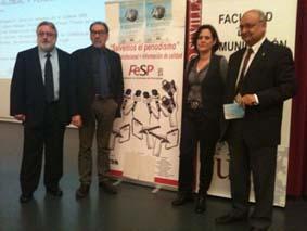 Inauguración de la jornada, con la presencia de Lola Fernández y Dardo Gómez