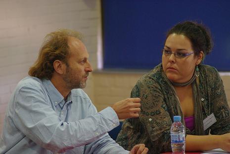 Manuel Chaparro y Carolina Aguilera